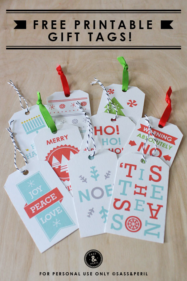 lots lots of free holiday gift tags fox brie