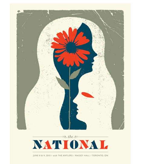 The National poster by Doublenaut