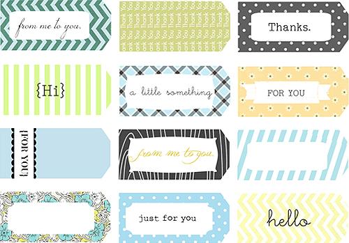 DIY Accordion Printable Gift Tags — Crafthubs