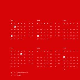 Edwin Carter Calendar  |  Fox & Brie