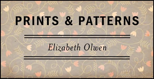Prints & Patterns: Elizabeth Olwen | via Fox & Brie