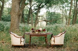 Fall Wedding Inspiration via Fox & Brie