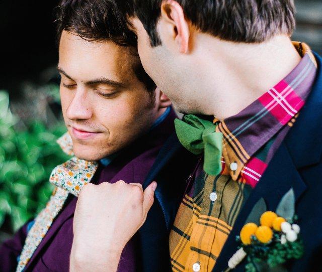 Eric Dannys Mountain Wedding Via Fox Brie