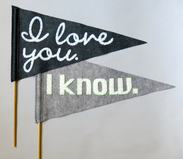 Star Wars Pennant Flags by Little Skunk Co. | Friday Favorites via Fox & Brie