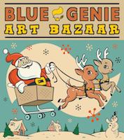 Fox & Brie at Blue Genie Art Bazaar