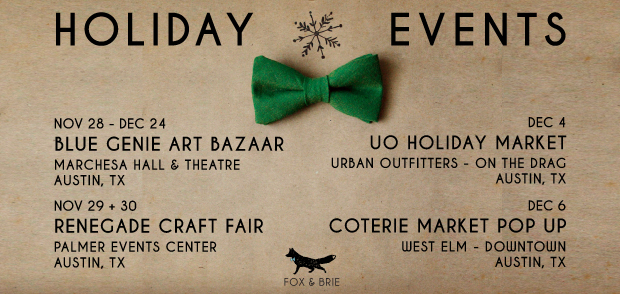 Fox & Brie 2014 Holiday Events