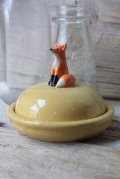 Fox Cheese Dish by Tasha McKelvey | Friday Favorites via Fox & Brie