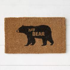 West Elm Bear Doormat | Friday Favorites via Fox & Brie