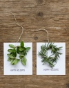 DIY Wreath Holiday Cards by Frolic Blog | Friday Favorites via Fox & Brie