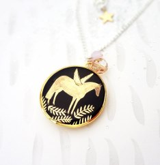 Pegasus Locket by Bonbi Forest | Friday Favorites via Fox & Brie