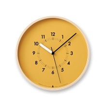 Lemnos Wall Clock on Dwell | Friday Favories via Fox & Brie