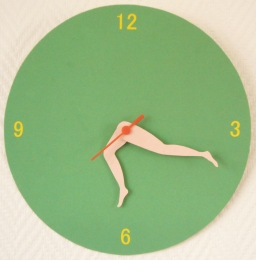 Clock by Celine Delabre | Friday Favorites via Fox & Brie