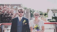Wedding: Dan & Laura | Photo by James Melia | Tie & Pocket Square by Fox & Brie