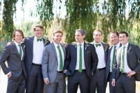 Wedding: Brian & Blaine | Photo by Abby Caldwell | Ties & Bow Ties by Fox & Brie