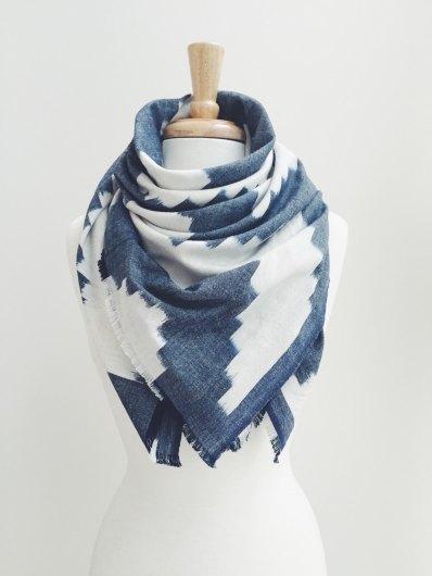DeBrosse Blanket Scarf | via Fox & Brie