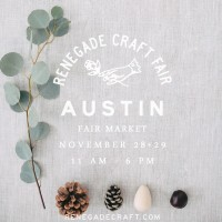Fox & Brie at Renegade Craft Fair Austin