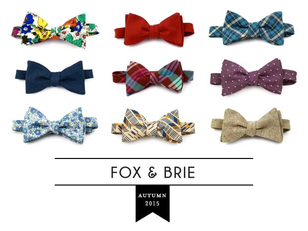 Fox U0026 Brie 2015 Fall/Winter Bow Ties