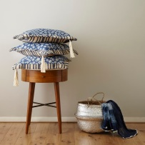 Indigo Cushion Cover by Napensea | via Fox & Brie